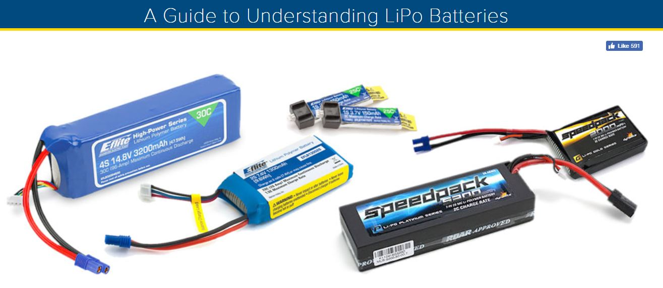 A Guide to Understanding LiPo Batteries